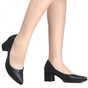 be297bd31c Scarpin Preto Sapatos Feminino Scarpins Dakota - Sapatos no Mercado ...