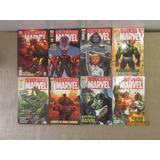 Lote Coleção Universo Marvel 8 Quadrinhos