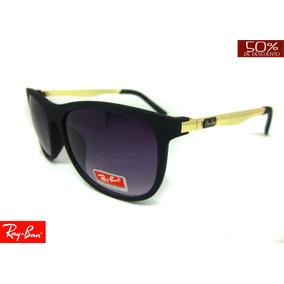 Gafas Ray Ban Brazo Metalico Doradas 55 Mm Filtro Uv 400 883da7990568