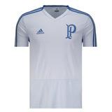 Camisa Palmeiras Original Treino adidas 2018 Azul Clara