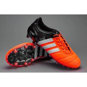 Botines Adidas Negros Cuero - Botines en Mercado Libre Argentina f1a195c07c43b