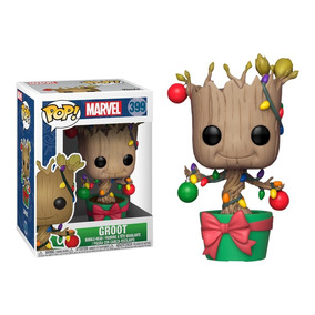 Funko Pop! Marvel - Guardiões Da Galáxia - Groot Natal #399