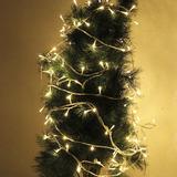 10m Decoracion Secuencia Luz Para Partido Navidad 80 Led