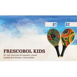 Raquete Frescobol Infantil Sunday