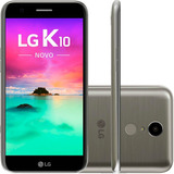 Smartphone Lg K10 Novo M250ds Tela 5.3 32gb 13mp - Titânio