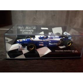 1/43 Miniatura Williams Hill Minichamps Campeão F1 96
