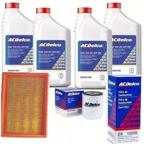 Kit Troca Oleo Filtros 5w30 Sintetico Cobalt/onix Genuíno Gm