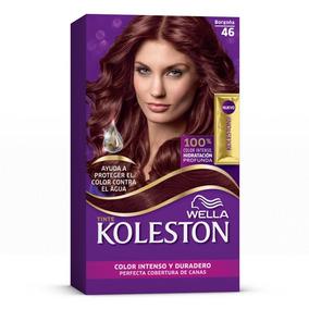 Wella Koleston Coloración En Crema Para Cabello, 46 - Borgoñ