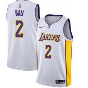 Regata adidas Nba La Lakers L71412 Camiseta Bryant. 1 vendido - São Paulo ·  Nba Lonzo Ball Lakers 2018 Branca Pronta Entreg 65ce1d4c6