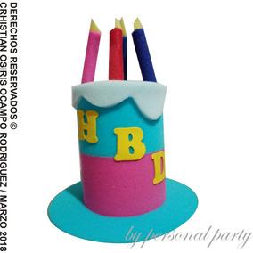 Sombrero Espuma Pastel Cumpleaños Fiesta Sombreros Dj Cake 4f5b9fd9920