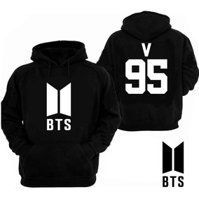 Sudadera Bts,nuevo Logo, Envio Gratis,v,kpop,bts