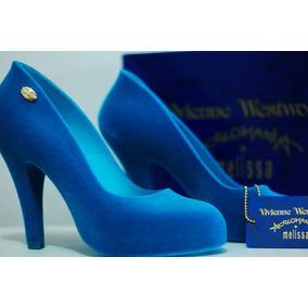 7a569d9360 Sapato Azul Royal Usado Feminino - Sapatos
