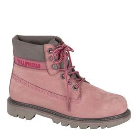Botas Caterpillar Rosas - Zapatos en Mercado Libre México 7b7f4f5a55049