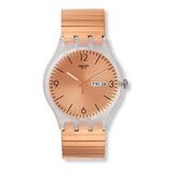 Reloj Swatch De Malla Elastizada Rosé Suok707