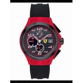 Relógio Scuderia Ferrari Preto 830017 Novo Com Nf E Garantia