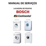 Manual Serviço Lavadora Continental Evolution 13 14 Bosch 16