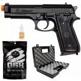 Pistola Airsoft Cybergun Taurus P92 + Maleta Rossi + 2000bbs