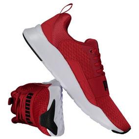 37e4515751341 Tenis Vermelho Masculino - Puma Casuais para Masculino no Mercado ...