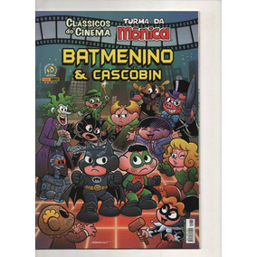 Classicos Do Cinema Batmenino E Cascobim Nº34