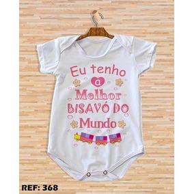 Body De Bebê Com Frases Bisavó Roupas De Bebê No Mercado Livre Brasil