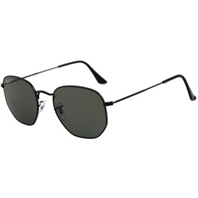 Óculos De Sol Ray-ban Hexagonal Rb 3548n 001 Tam 54 Original 1ac963e8c6