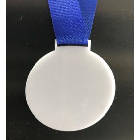 25 Medalha Branca Para Personalizar