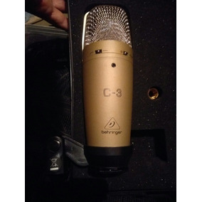 Micrófono Grabación Behringer C3 Condenser