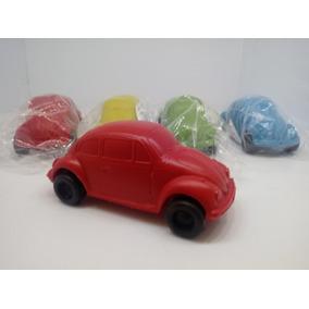 Kit 10 Fusquinhas Plástico Fusca Carrinho Antigo Camioneta