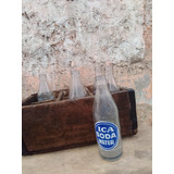 Antigua Caja De Botellas Ica Soda