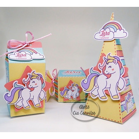 Kit Festa Infantil Unicornio - 125 Itens