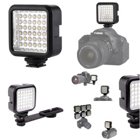 Foto Y Video - Luz De 36 Led Recargable - Chromo Inc
