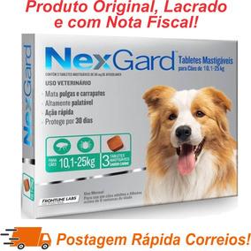 Nexgard Antipulgas E Carrapatos 10 A 25kg C/3 Val Maio20