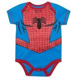 Marvel Spider Man Body Bebe Niño 18 Meses Halloween Original 9f83c5c9733