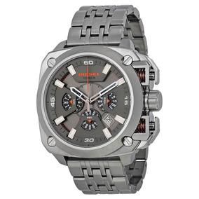 Relógio Diesel Bamf Masculino Chumbo Cronógrafo - Dz7344/1cn