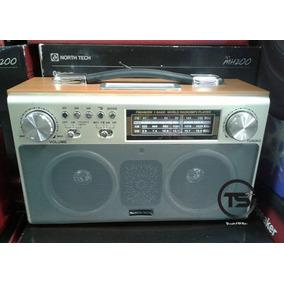 Parlante Radio Nt-mh200 Retro Nortech Entradas Usb- Aux