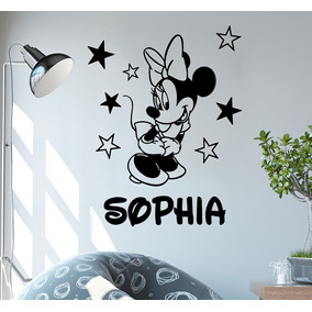 33faa05c9a Adesivo De Parede - Minnie Kids Mouse Infantil Personalizado