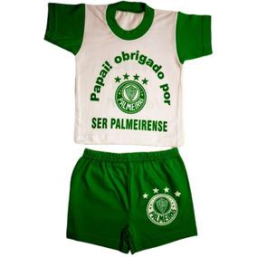 Roupa De Bebe Do Palmeiras Menina - Roupas de Bebê no Mercado Livre ... d1cff280a54c6