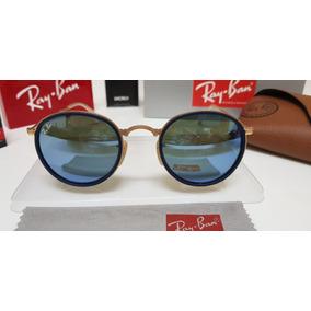 8f4194db9bd21 Oculos Redondo Espelhado Masculino - Óculos De Sol Ray-Ban Round no ...
