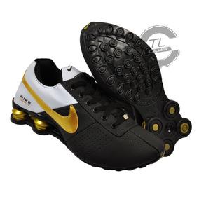 0ec7719aad9 Nike Shox Réplicas Idênticas - Tênis Dourado no Mercado Livre Brasil