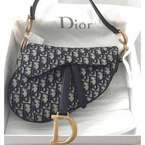 e3fc60efa1e Bolsa Dior Saddle Bag Preta - Bolsas no Mercado Livre Brasil