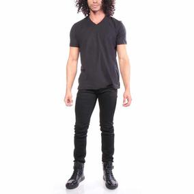 Playera T-rene Diesel T-shirts Men Black Size M