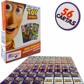 Mini Baralho Jogo De Cartas Toy Story Brinquedo Educativo