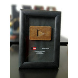 Placa De Youtube | Totalmente Personalizada