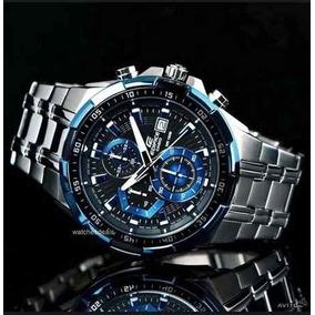 780eda7246f Relogio Casio Edifice Ef 539 Misto Fundo Preto - Relógio Casio ...