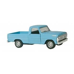 Atacado! 10 Carros Classicos Nacionais Ford F100 Azul #