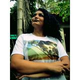 Camiseta Com Foto Impressa Viver A Vida , Manga Curta