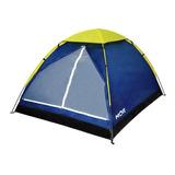 Barraca Camping Iglu 4 Pessoas Azul - Mor