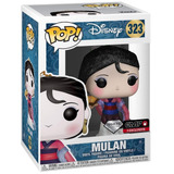 Pop! Funko Disney #323 Mulan Diamond Collection