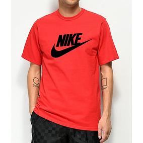 Camiseta Nike Vermelha - Camisetas Manga Curta Masculino no Mercado ... 371a1727db55b