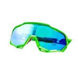 Óculos De Ciclismo Tsw Cross Mtb Speed Proteção Uv400 Verde e41ac32409
